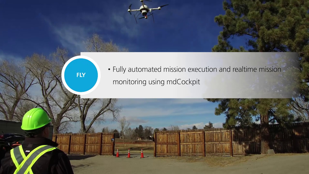 Microdrones Showcases Turnkey Unmanned Aerial LiDAR System