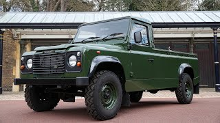 video: 18 years in the making, Prince Philip's Land Rover hearse bears the mark of a military man