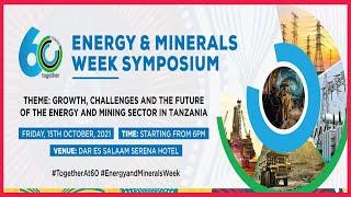 LIVE: Energy & Minerals week symposium