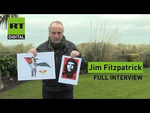 FULL : Jim Fitzpatrick  From 'Viva Che' to reclaiming Wonderwoman