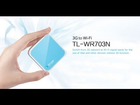 TP-Link TL-WR703n - Présentation + Hack OpenWRT