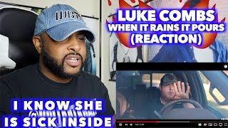 Download WHEN IT RAINS IT POURS - LUKE COMBS | GOD I SEEN WHAT YOU DID FOR OTHERS | REACTION Mp3 and Videos