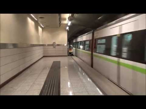 Test of my new camera: Athens Metro: New trains in line 2