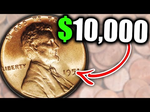 HOW MUCH IS A 1951 WHEAT PENNY WORTH?? CHECK YOUR POCKET
