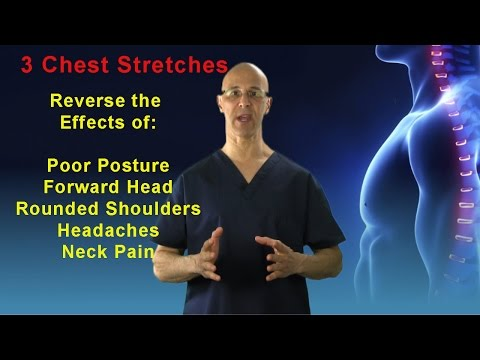 3 Great Chest Stretches to Reverse the Effects of Poor Posture, Rounded Shoulders & Headaches