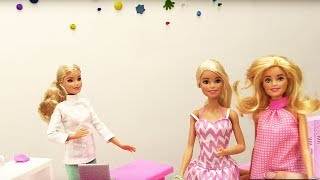 Куклы Барби в СПА салоне! Игры #БАРБИ / Видео для Девочек