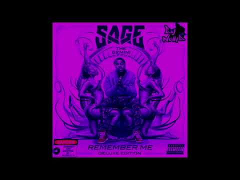 Sage The Gemini - Give It Up (ft. Berner & P-Lo) [Screwed and Chopped by DJ Nelly D]