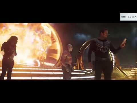 Very Funny Comedy scenes of Rocket In Hindi(Gardians Of Galaxy Vol. 2)_HD