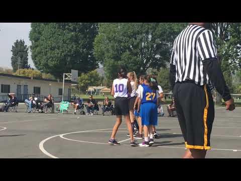 East Whittier Middle School 7th Grade Basketball Team - 2018