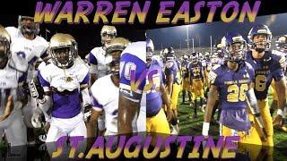 Warren Easton 7, St. Augustine 0 (St. Aug Jamboree) - Yo'Heinz Tyler reels in only score
