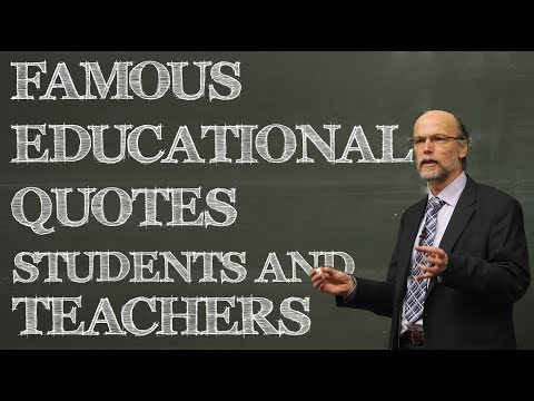 Education Quotes - Famous Educational Quotes for Kids, Students and Teachers