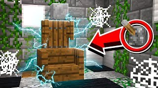 How to Build a WORKING ELECTRIC CHAIR in Minecraft! (NO MODS!)