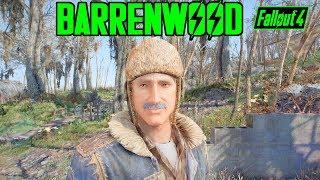 Fallout 4 - BARRENWOOD - NEW WORLD MAP, NEW QUESTS, NEW NPCs! - Xbox & PC Mod - Part 1