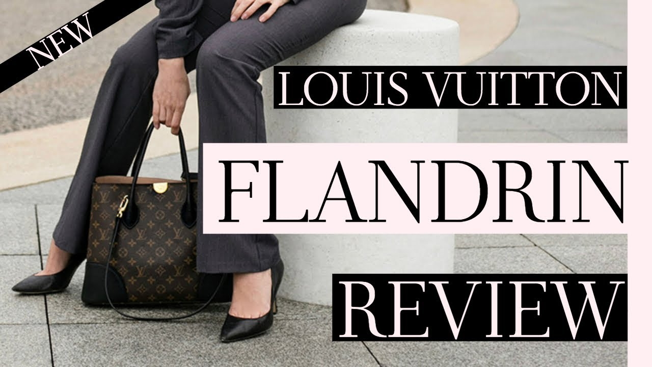 f3e665828d35 LOUIS VUITTON FLANDRIN REVIEW - YouTube
