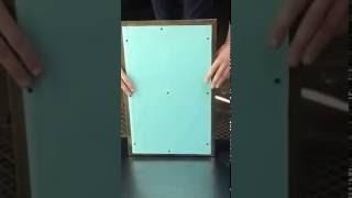 Нажимной распашной люк под плитку  400х500(Потайные ревизионные люки собственного производства. У нас Вы можете приобрести люки невидимки: - в стены..., 2016-10-08T11:50:37.000Z)