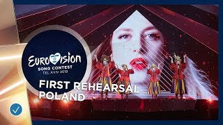 Poland 🇵🇱 - Tulia - Fire Of Love (Pali Się) - First Rehearsal - Eurovision 2019