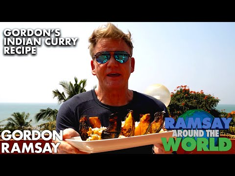 Gordon Ramsay Cooks a Pumpkin Curry in India | Ramsay Around