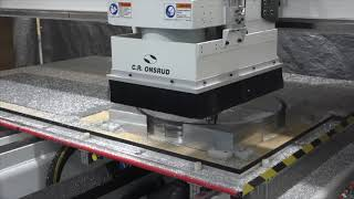 """4"""" Aluminum Machining on an Onsrud C-Series CNC Router"""