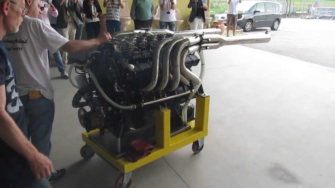 Lamborghini marine engines