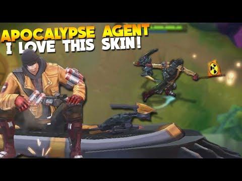 New Yi Sun-Shin Skin Gameplay! (Apocalypse Agent) Mobile Legends