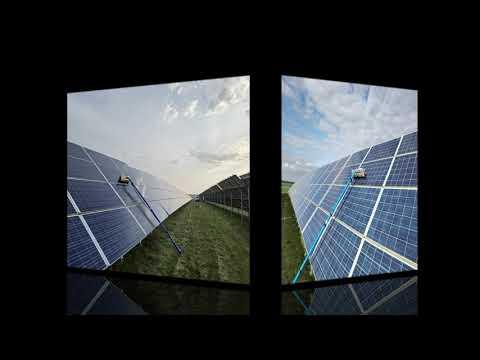 Čištění solárních a fotovoltaických panelů
