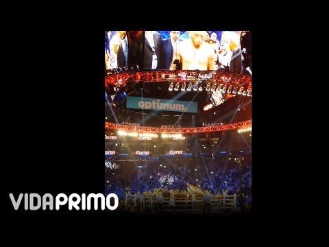 Presentacion de los pugiles Miguel Cotto vs la Maravilla en el MSG