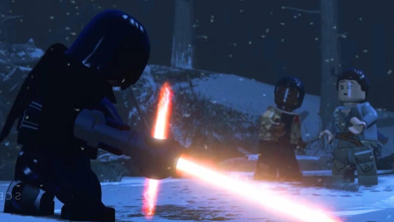 Kylo Ren with Lightsaber LEGO Star Wars Star Wars