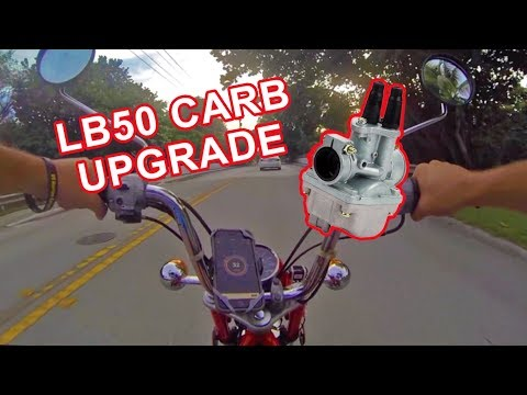 LB50 PW80 Carb Upgrade and Comparison