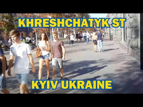 Travel with Me to KIEV UKRAINE—Khreshchatyk Street
