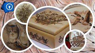 Выжигание по дереву (примеры, подарки, сувениры из дерева)