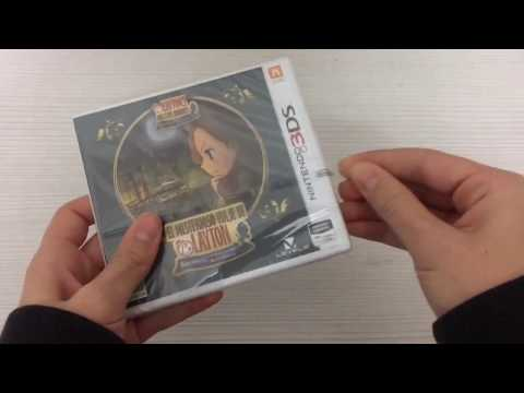 Unboxing: Layton's Mystery Journey: Katrielle and the Millionaires' Conspiracy