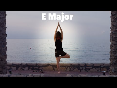 Epic 20-Minute Ambient Yoga Music Backing Track (E Major)