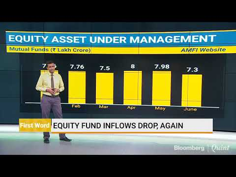 Equity Fund Inflows Drop For The Second Straight Month In June