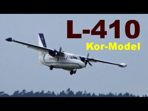 Let L-410 Kor-model, Scale RC Aircraft, Nesvacily 2019