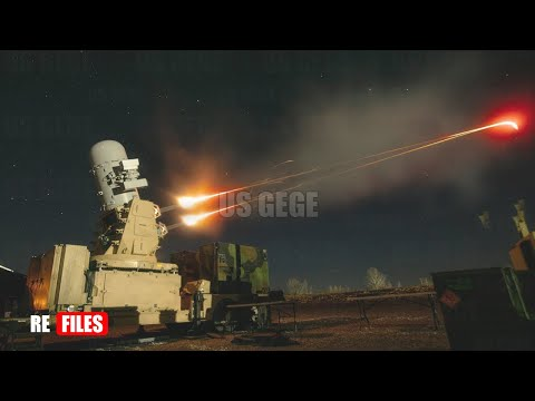 Terrible Shots (May 31,2021) C-RAM intercept Iranian Missiles with Fires 4,500 Rounds Per Minute