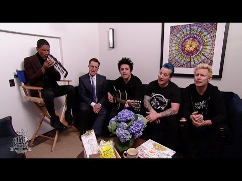 The Late Show Presents: Bonus Tracks, Green Day Edition