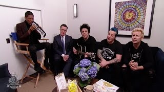Go behind the scenes with iconic rock band Green Day as they spend ...