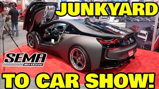 I Brought My JUNKED Supercar to SEMA and Nobody Noticed