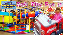 Wonder world soft play Glasgow - Fun Indoors playground for kids and family.