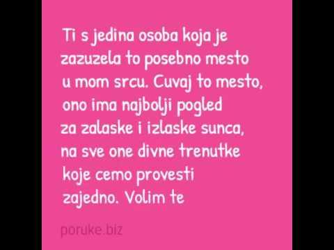 čestitke za rođendan ljubavne Lepe ljubavne poruke na srpskom jeziku   YouTube čestitke za rođendan ljubavne