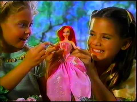 The Little Mermaid - Transforming Ariel Doll Ad