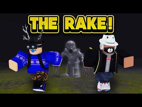 THE RAKE IS AFTER US! (ROBLOX The Rake)