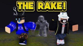 THE RAKE IS AFTER US! (ROBLOX The Rake) thumbnail