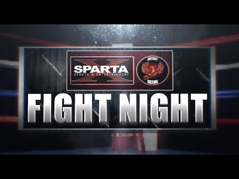 SPARTA & ATB present FIGHT NIGHT: Junior Columbos vs Zamir Young