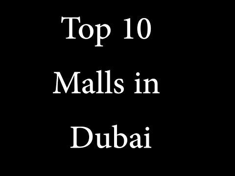 Top 10 Malls in dubai
