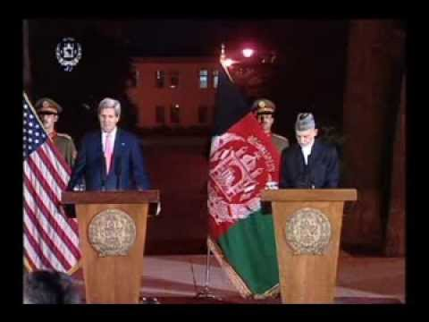 President Karzai and Secretary Kerry Joint Press Conference - October 12, 2013