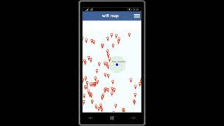 Wifi Map Password for Windows Phone