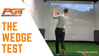 Trackman Wedge Test. Check out what a wedge test involves and how it can improve your game.