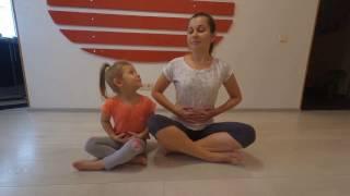 Йога для детей Занятие 2