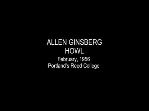 "First recording of ""Howl"" read by Allen Ginsberg, 1956"